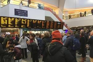 police warning over 'stranded' birmingham passengers as rail staff strike