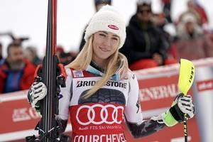alpine skiing-american shiffrin breaks stenmark's record for slalom wins