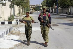 blast in syrian town held by turkey-backed gunmen kills 3