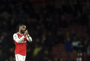 pressure grows on emery as lacazette salvages late point for arsenal