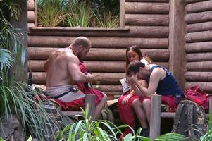 i'm a celebrity 2019 camp in lockdown as 'killer' on the loose after body found