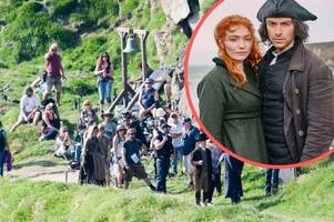 dismay at 'poldark effect' wrecking west country village