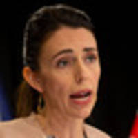 Jacinda Ardern at home with significant facial swelling after wisdom tooth surgery