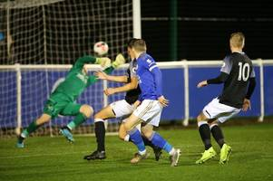 derby county's fine run of form ended by leicester city