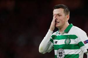 callum mcgregor's brilliant retort at celtic bash after cutting fan barb from host peter martin