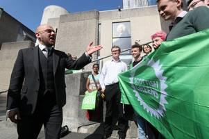 greens manifesto demands scottish independence referendum before brexit