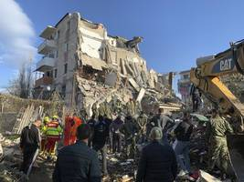 albania earthquake: at least 16 dead as strongest tremor in decades hits