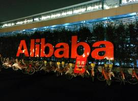 alibaba shares trading 7.7% higher in hong kong debut