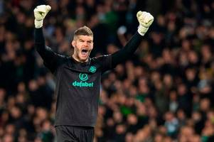 fraser forster in hunt for celtic respite as keeper issues rennes rallying cry