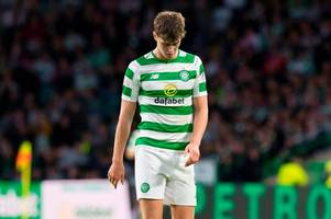 jack hendry's celtic career hits new low as he's shown straight red in reserve defeat