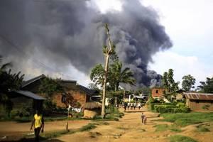 ebola services in congo hit as civilians attack un base over massacres
