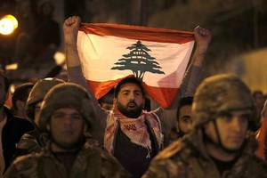 overnight clashes in lebanon injure dozens as tensions rise