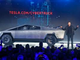 someone spotted a cybertruck being driven on public roads close to tesla's design headquarters