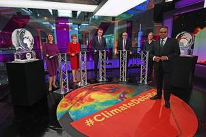 conservatives complain to ofcom after channel 4 replaces boris johnson with ice sculpture in climate change debate