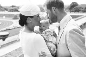prince harry and meghan markle's adorable archie thanksgiving message