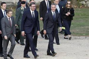 Ahead of NATO summit, Serbia buffeted between West and Russia