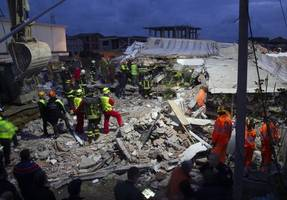 albania earthquake death toll hits 40: defence ministry