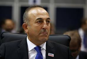 turkey dismisses macron's syria criticism, says he sponsors terrorism