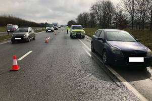 eighteen deaths on the a417/a419 last year after super camera crackdown which caught nick knowles