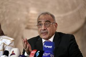 iraq pm announces resignation after call from top shi'ite cleric