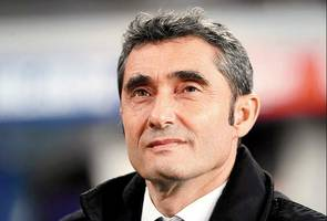 champions league: lionel messi was incredible, says boss ernesto valverde