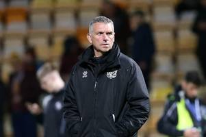 Cheltenham Town v Port Vale LIVE FA Cup team news and action
