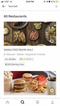 i was a die-hard seamless/grubhub user, but after switching to uber eats for a week i'm never looking back
