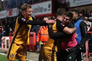 When is the FA Cup third round draw and what number are Port Vale