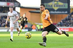 the reason wolves didn't make a sub vs sheffield united as diogo jota frustrates