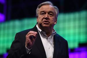 un chief: humanity's 'war against nature' must stop