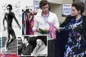 peebles shopping trip for tiny trunks was start of princess margaret's love affair with toyboy lover