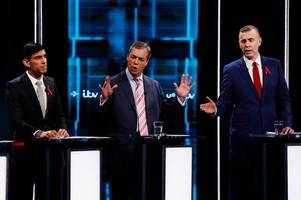 how you rated the parties on itv's general election debate