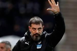 'there are going to be some sackings' - slaven bilic's reaction to west brom's penalty