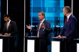 nigel farage warns itv general election debate not to 'demonise' donald trump