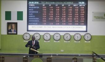 nigeria foreign reserves fall in november; markets on standby
