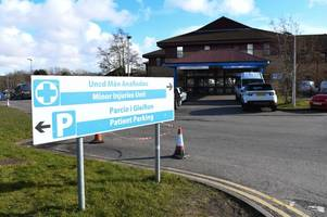 visitors banned from prince philip hospital in llanelli after norovirus outbreak