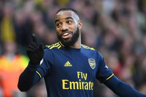 freddie ljungberg must make the bold move of benching alexandre lacazette to unleash arsenal