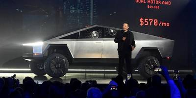 elon musk says the bizarre-looking new cybertruck from tesla was 'inspired by games like halo' — here's how they compare (tsla)