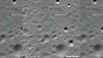 millennial engineer helps nasa find vikram lunar crash site