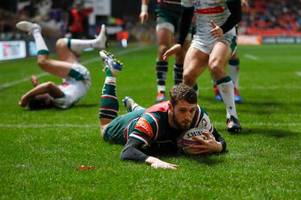 injury blow for leicester tigers as winger jonah holmes is ruled out until new year