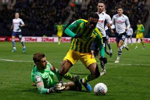 police get involved in west brom penalty row after late drama at preston