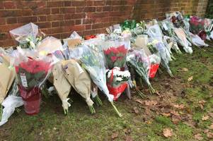 Loughton Willingale Road: Flowers left outside Debden Park High School where 12-year-old killed in crash