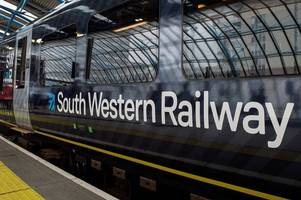 passenger 'passes out' on 'very crowded and very warm' south western railway london waterloo train