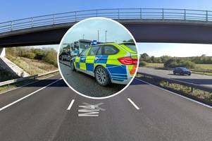 Collision between van and car transporter on M4 sparks police appeal