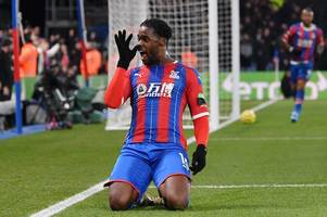 crystal palace player ratings: schlupp the hero for ten-man eagles after sakho sees red