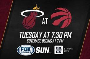 Preview: Heat head north to take on defending champion Raptors