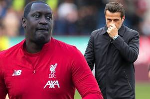 Emile Heskey sends Marco Silva axe warning with Liverpool vs Everton forecast