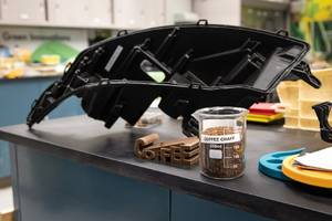 Ford is recycling used McDonald's coffee grounds into car parts