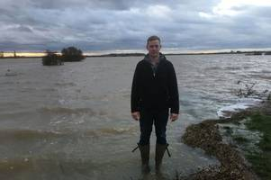 flood warnings issued for lincolnshire as rivers rise after heavy rain