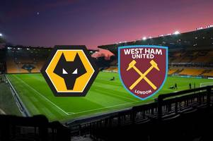 Wolves vs West Ham live: Kick-off time, Amazon Prime stream details, score and goal updates